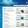 professional diving services – website development